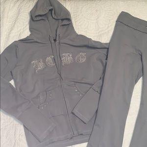 Grey BCBG MAXAZRIA Matching Sweatsuit
